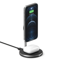 BỘ SẠC KHÔNG DÂY HYPERJUICE MAGNETIC 2 IN 1 WIRELESS CHARGING...