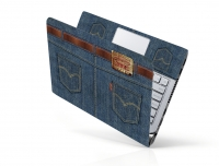 Mẫu Jean Decal Laptop LTQJ-01