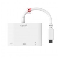 Usb-C to Usb3.0 + TypeC+ VGA (MP438)