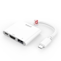 Usb-C to Usb3.0 + TypeC+ HdMi (MP459)