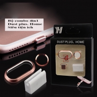 Combo 4 in 1 Dust Plus - Home cho iPhone...