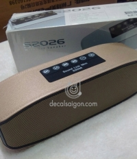 LOA BLUETOOTH S2026 Cho Iphone, Ipad, Laptop