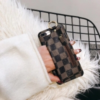 Ốp Dẻo Da Louis Vuitton Kèm Nhẫn Iphone 6 7 Plus Iphone X