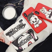 Ốp Da Hình MOSCHINO iPhone 6 7 8 Plus X