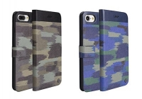 Bao Da Uniq Militaire Slim Diary iPhone 7 8 Plus X