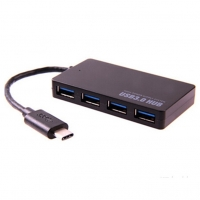 Đầu chia USB 3.0 JCPAL LINX ULTRA SLIM USB-C TO 4-PORT USB 3.0 HUB