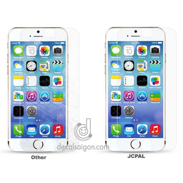 Miếng dán cường lực iphone 7 7 plus siêu mỏng Jcpal - 158853