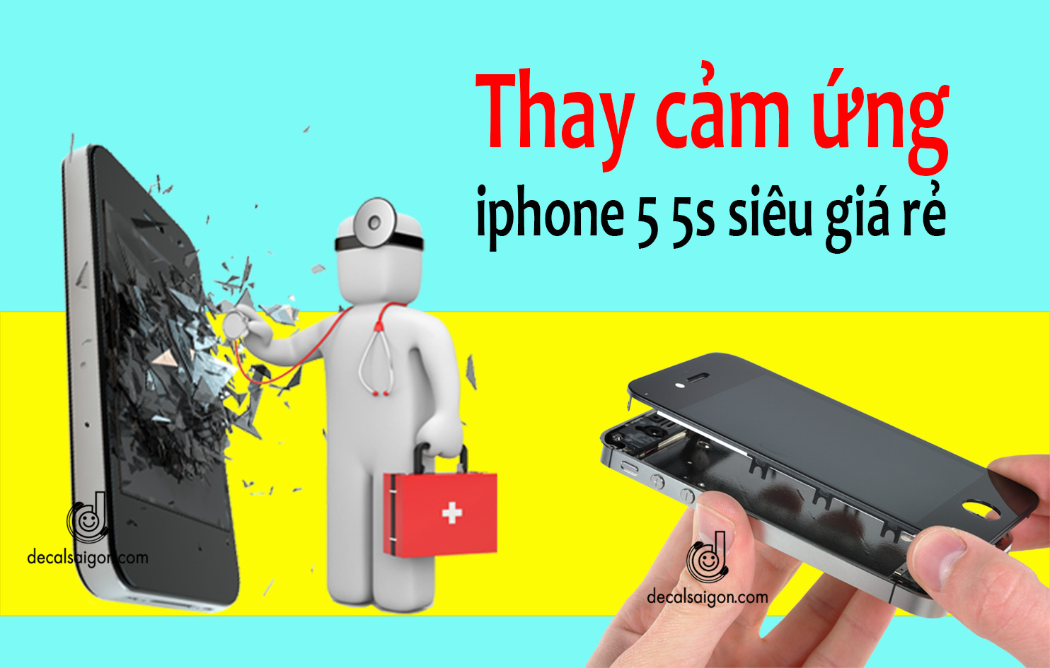 Uy tin gia re cuc soc tphcm thay man iphone lay lien
