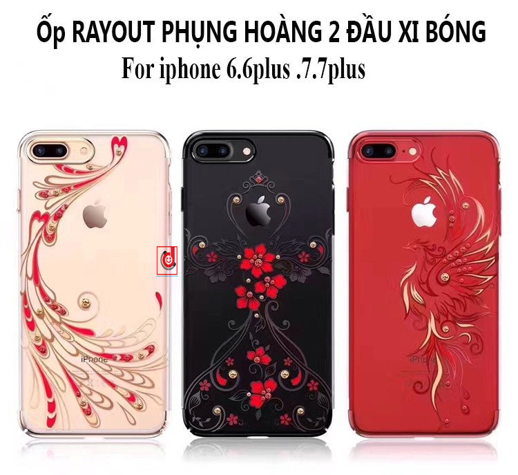 Op lung silicon deo cao cap cuc dep iphone 7 plus