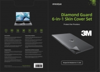 Bộ Dán 6 in 1 INNOSTYLE (USA) DIAMOND GUARD SKIN SET FOR MACBOOK...
